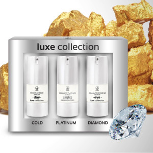 Luxw collection, serum, gold, platina, diamond